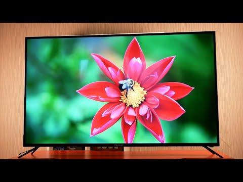 Доступный, огромный 4K UHD ТВ! Polarline 58PU55STC-SM 58 / Арстайл /