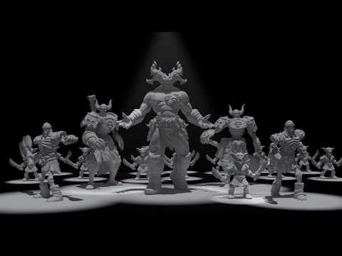 Magic Of Legends - Miniatures Show