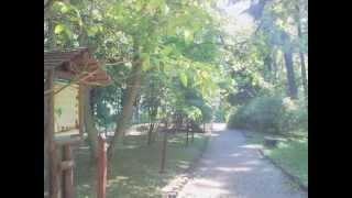 preview picture of video 'Bicycle tour Szczecin Glinna Gliniec OGRÓD GARDEN DENDROLOGICZNY 2012 05 25 10:31[Photos]'