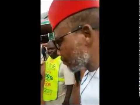 Jubilations in Lord Chosen Church as Nnamdi Kanu Storms Crusade Ground
