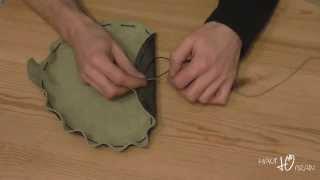 Lederbeutel herstellen Video 1