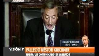 Visión Siete Falleció Néstor Kirchner 42