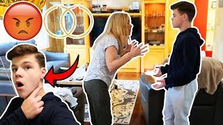 EARS PIERCED PRANK ON MOM! *FREAKOUT*