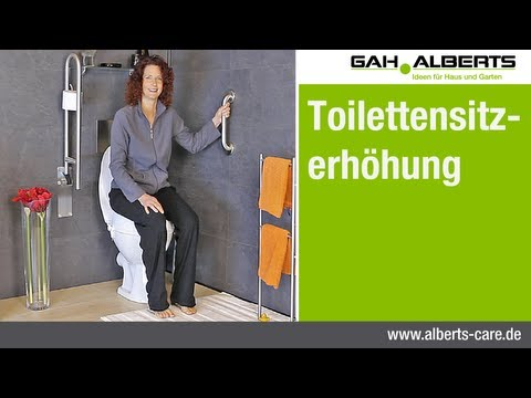 Alberts care - Toilettensitzerhöhung