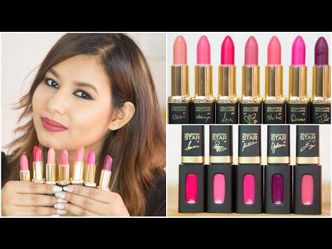 L'Oréal Paris La Vie En Rose by Color Riche Lipstick Review | Sonal Sagaraya