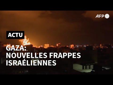 Troisième nuit d'affrontements entre Israël et le Hamas   AFP Troisième nuit d'affrontements entre Israël et le Hamas   AFP