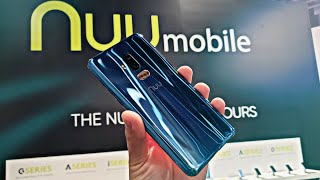 Nuu Mobile G4 First Look & Hands On