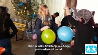 Pol Bojl o radu SOS Dečijih sela Srbija