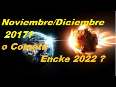 Peligro:Tauridas y Cometa Encke 2022
