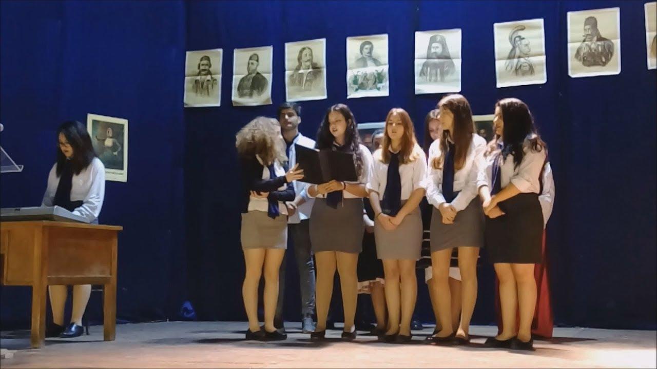 O εορτασμός της 25ης Μαρτίου στα Ελληνικά σχολεία της Αλεξάνδρειας Αιγύπτου