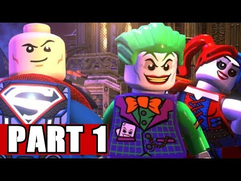 Gameplay de LEGO DC Super-Villains Deluxe Edition
