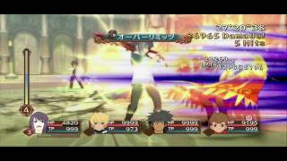 Tales of Graces F - RPCS3 TEST (InGame) - hmong video
