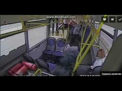 не соблюдение ПДД водителем автобуса
