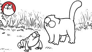 Tongue Tied - Simon's Cat | SHORTS #21