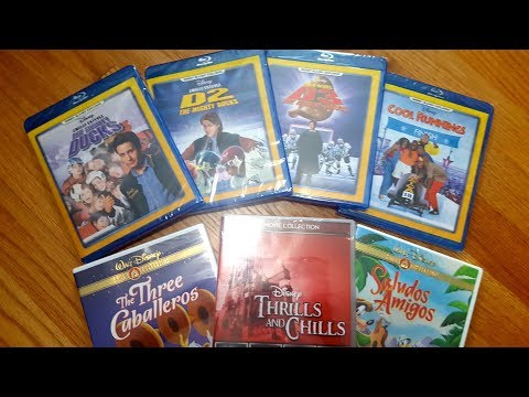 Disney Movie Club Haul - The Mighty Ducks Blu-Ray Collection, Cool Runnings, Saludos Amigos