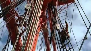 Кругосветка барка Седов. Военная программа Сладкова (1)