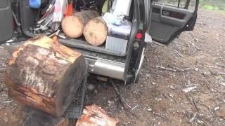 山遊び 渓流釣りと山菜採りと天ぷらと 20150426