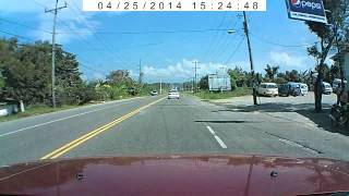 preview picture of video 'Vaca en carretera Puerto Plata - Montellano'