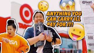 ANYTHING YOU CAN CARRY   I'LL BUY IT CHALLENGE WITH MY BEST FRIEND! | KIM THAI