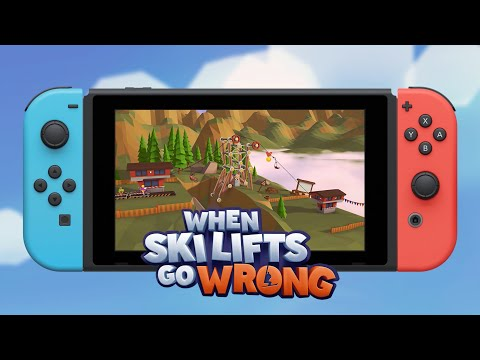 When Ski Lifts Go Wrong - Official Nintendo Switch Trailer thumbnail