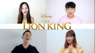 """""""Can You Feel The Love Tonight""""   EnglishChineseKoreanJapaneseThai Cover (Lion King)"""