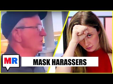 Anti-Mask Morons Harass Children Minding Their Business