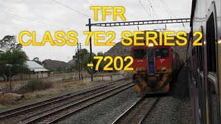 SOUTH AFRICAN TRAINS:TFR : CLASS 7E2 SERIES 2- 7202