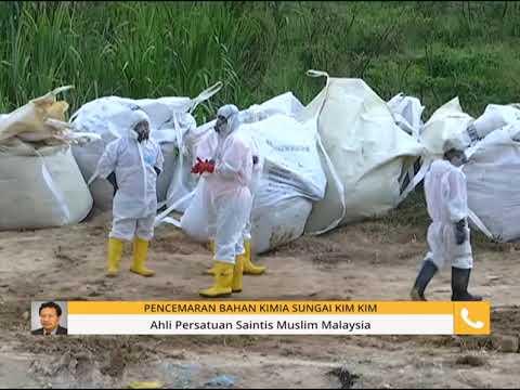 Pencemaran bahan kimia: Perkembangan Sungai Kim Kim di Pasir Gudang