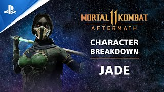 PlayStation Mortal Kombat 11: Aftermath - Character Breakdown: Jade | PS Competition Center anuncio