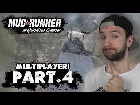 MULTIPLAYER! | Spintires Mudrunner #04