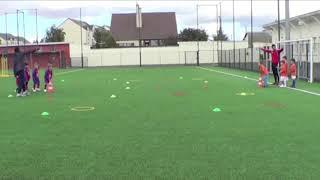 Exemples exercices écoles de Foot