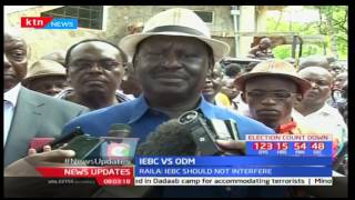 Raila Odinga claims IEBC is 'micromanaging' political parties