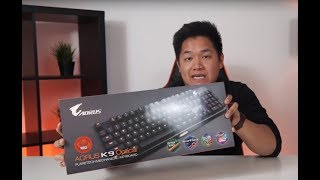 AORUS K9 Optical Gaming Keyboard | First Look