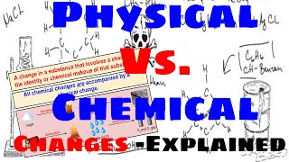 Physical Vs. Chemical Changes - Explained
