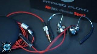 Atomic Floyd AirJax In-Ear Headphones Review (Best Gym IEMs?)
