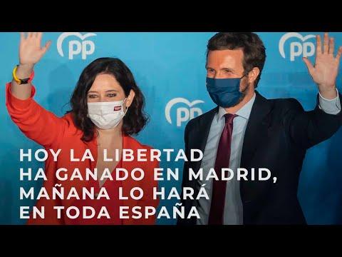 Hoy la libertad ha ganado en Madrid, mañana lo hará en toda España
