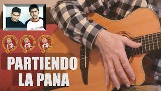 Como tocar PARTIENDO LA PANA en GUITARRA | Tutorial ESTOPA 1