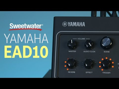 Yamaha EAD10 Drum Module with Mic and Trigger Pickup