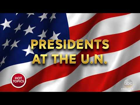 A Look Back On Presidents' Speeches At The United Nations | The View