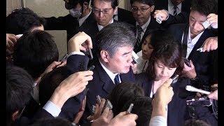 福田財務次官が辞任=自身のセクハラ疑惑で-任期途中交代は20年ぶり