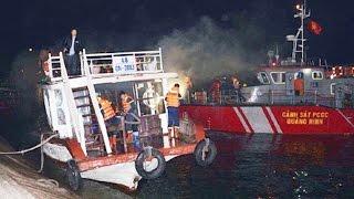 Tin Tức 24h: Yêu cầu điều tra vụ cháy tàu du lịch trên vịnh Hạ Long
