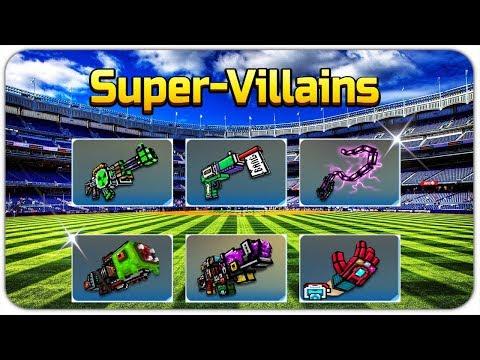 Super-Villains Weapons - Pixel Gun 3D