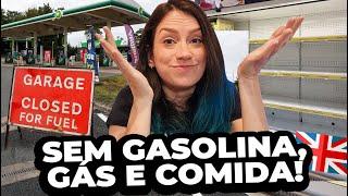 AGORA FALTA GASOLINA NA INGLATERRA! Crise do combustível, do gás e  energia elétrica
