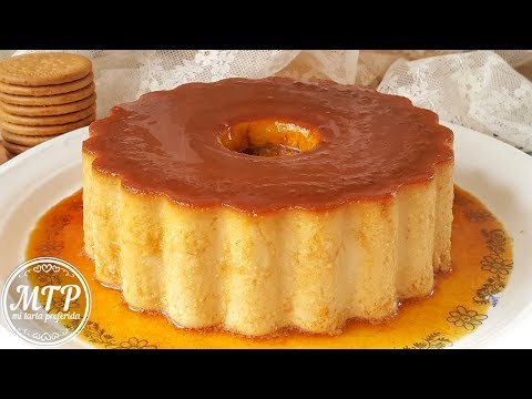 Flan de galletas María | Mi tarta preferida
