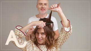 Alexa Chung Hair Tutorial How To Get A 60s Look | ALEXACHUNG