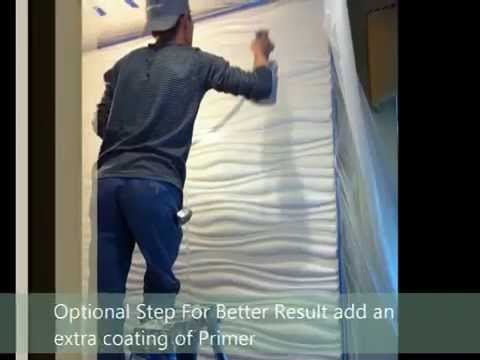 Setting Up a 3D Wall Panel