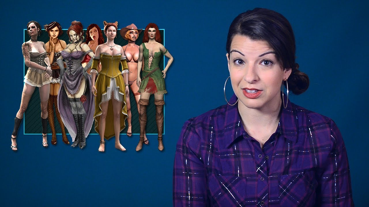 Tropes Vs Women Explores The Issue Of Women Being Used As 'Decoration'