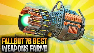 Fallout 76 Top 5 Best Legendary Weapon Farming Locations! (Best Weapons & Armor Farm)