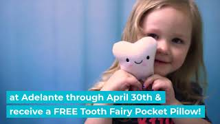 Tooth Fairy Pillow Promotion 2019