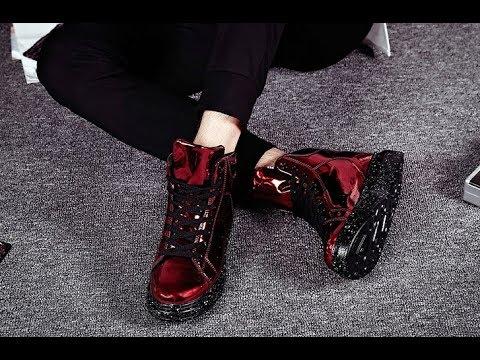 Женские осенние весенние ботинки из окрашенной ЭКО кожи с толстой подошвой от ERNESTNM